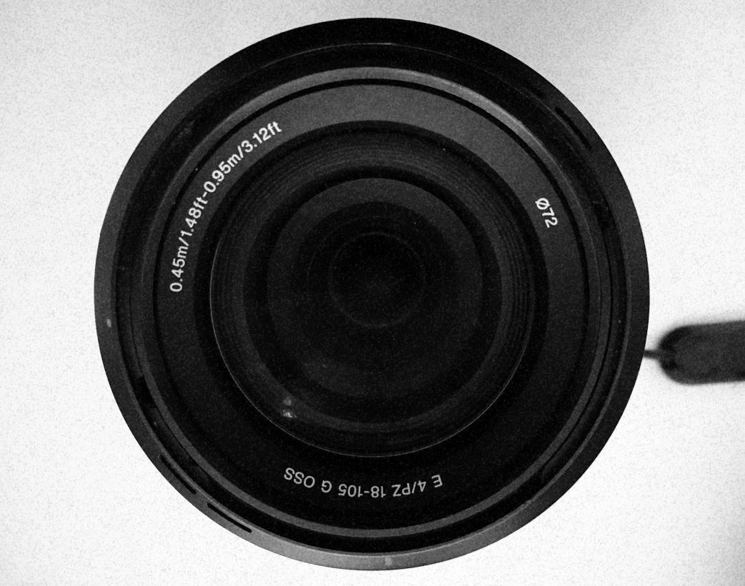 Camera Lense B&W
