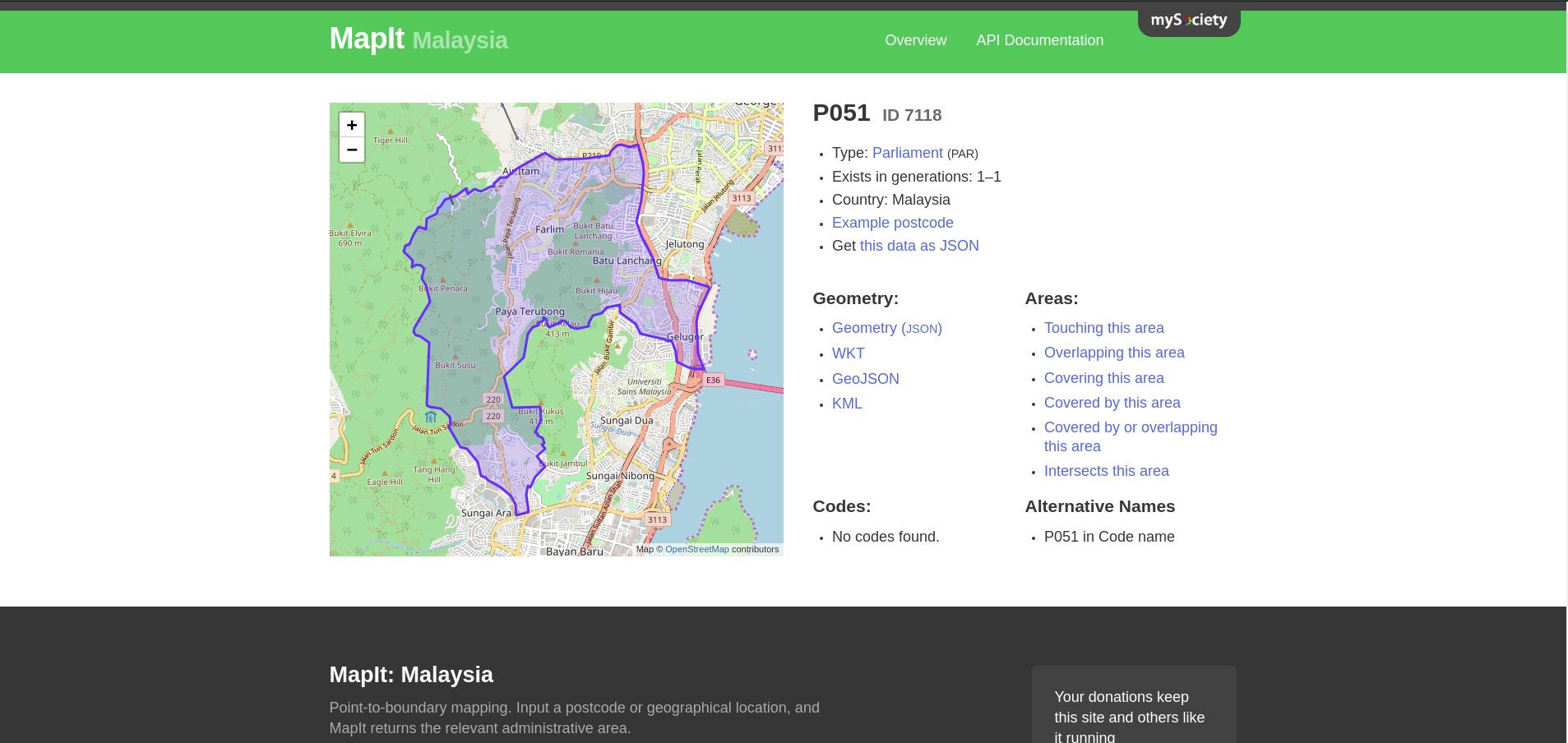 MapIt Screenshot