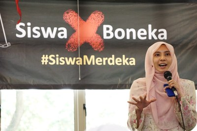 Speech at Siswa Merdeka