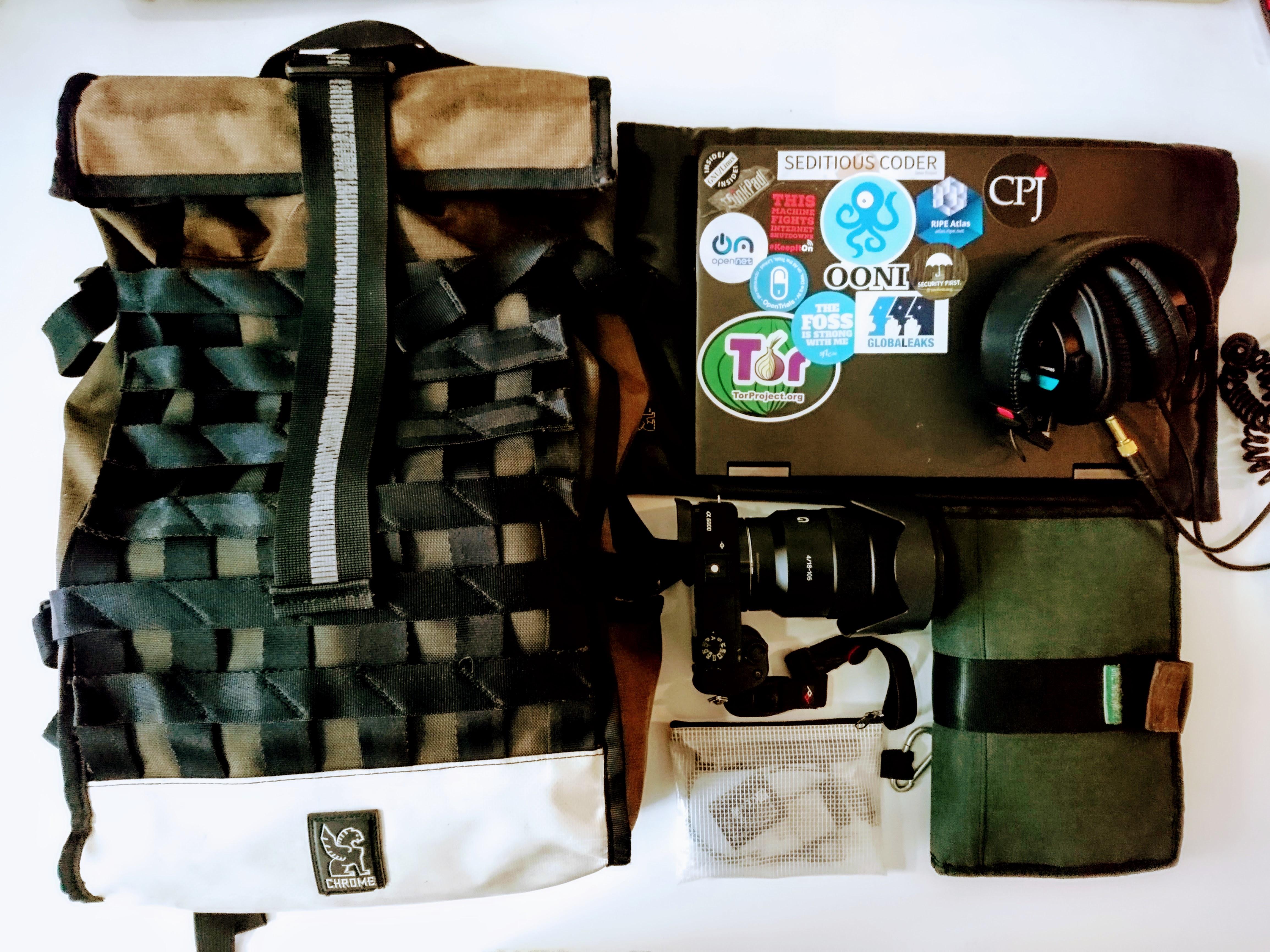 Photojournalism kit